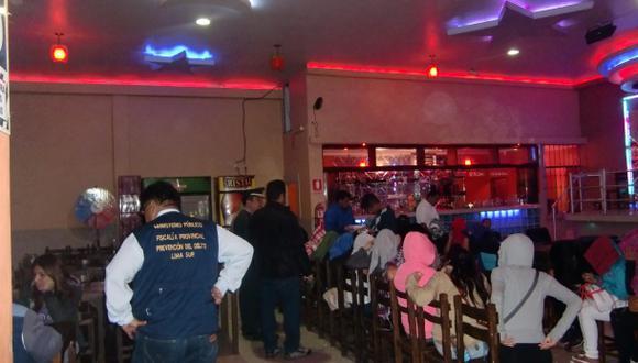Intervienen a ocho prostitutas extranjeras ilegales en Lurín