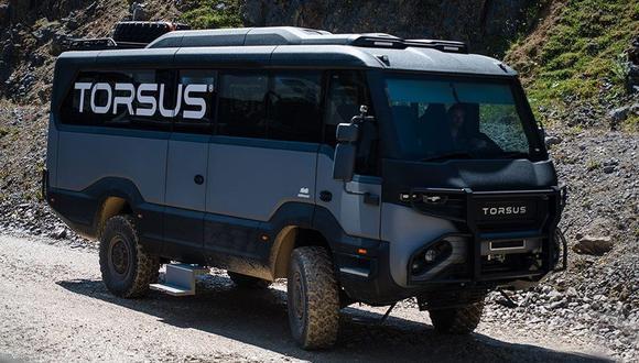 El Torsus Praetorian cuenta con un motor de 6,9 litros turbodiésel que desarrolla 240 HP. (Video: YouTube)