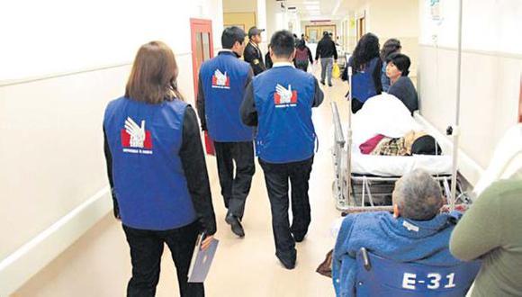 Defensoría detecta fallas en emergencia de hospital Rebagliati