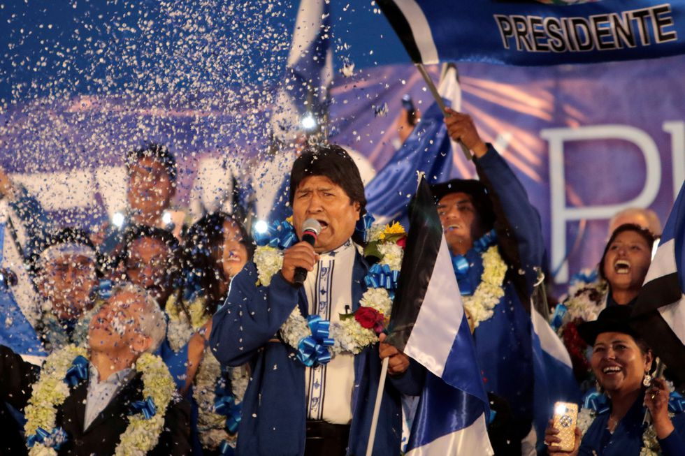 Durante su mandato-récord, Morales ha tenido un amplio apoyo popular, empujado principalmente por movimientos indígenas que sostienen sus bases electorales. (Reuters)