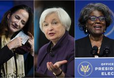 Poder femenino: las mujeres que estarán en los puestos más importantes del gabinete de Biden