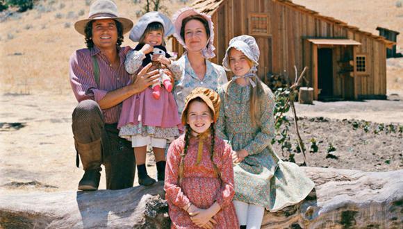 Michael Landon, Karen Grassle, Melissa Gilbert, Melissa Sue Anderson y las gemelas Lindsay y Sidney Greenbush dieron vida a los integrantes de la clásica serie. (Foto: NBC)