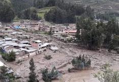 Huánuco: tres casas destruidas y otras 17 resultan afectadas tras la caída de un huaico en Huacrachuco