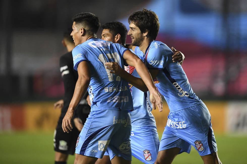 Arsenal vs. Bolívar por Copa Sudamericana Fuente: AFP