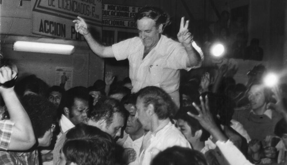 El Comercio informó así la victoria de Eduardo Orrego Villacorta, de Acción Popular, en el proceso electoral de 1980. Se impuso sobre Alfonso Barrantes que quedó en segundo lugar. (Foto: Archivo El Comercio)