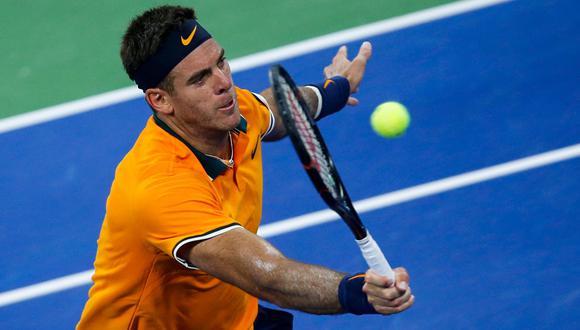 Del Potro vs. Denis Kudla: por la segunda ronda del US Open 2018. (Foto: AFP)