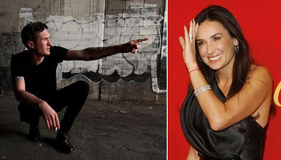 Demi Moore tendría romance con músico 24 años menor que ella