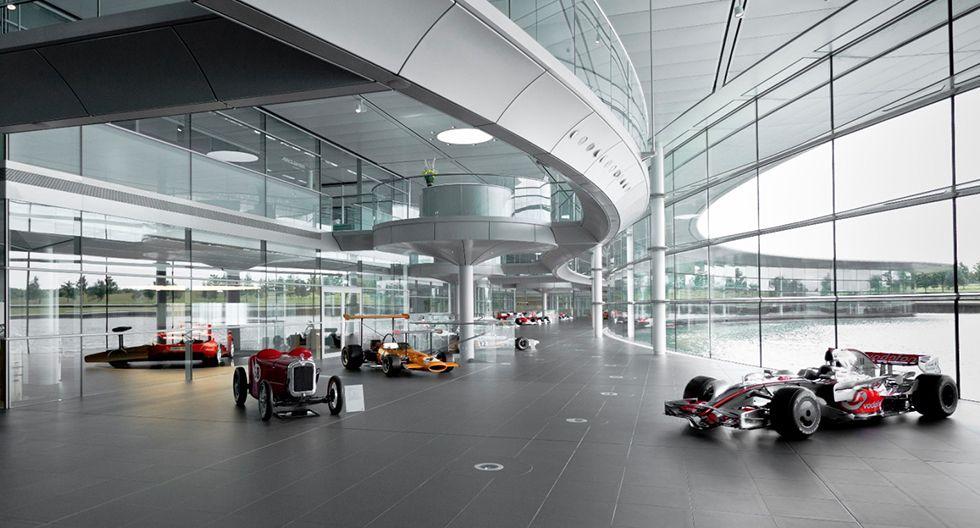 5. McLaren Technology Centre.