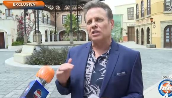 """Alexis Ayala tras confirmar que contrajo COVID-19: """"Qué sacudida te da"""". (Foto: captura de video)"""