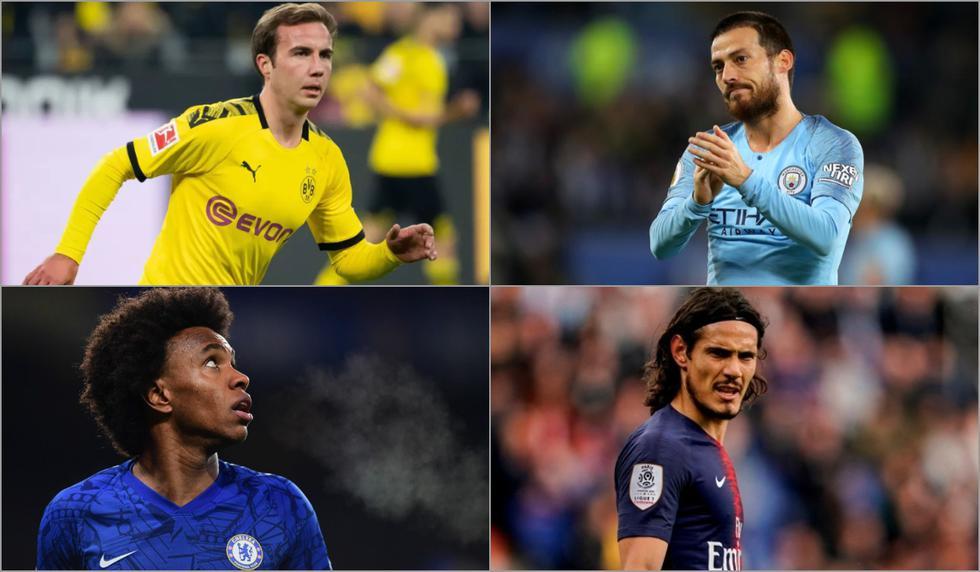 Conoce el XI ideal de los jugadores que acaban contrato en julio [FOTOS]