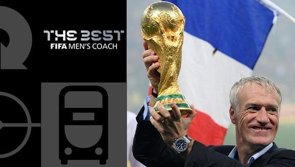 FIFA The Best EN VIVO: Didier Deschamps ganó el premio al mejor entrenador. (Foto: The Best)