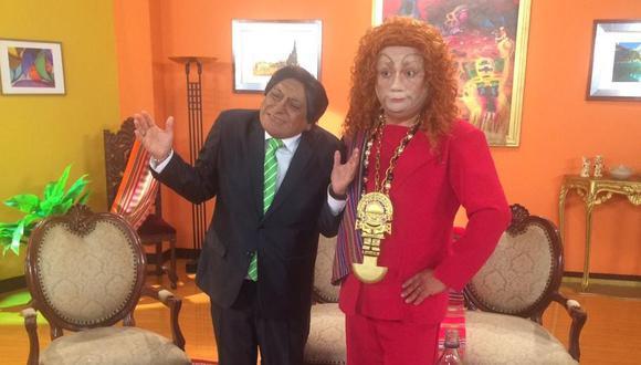 Jorge Benavides y Carlos Álvarez volvieron a parodiar a Eliane Karp y Alejandro Toledo, por San Valentín. (Foto/Facebook)