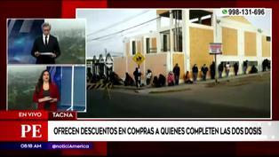 Tacna inicia vacunación contra el COVID-19 a personas de 22 años