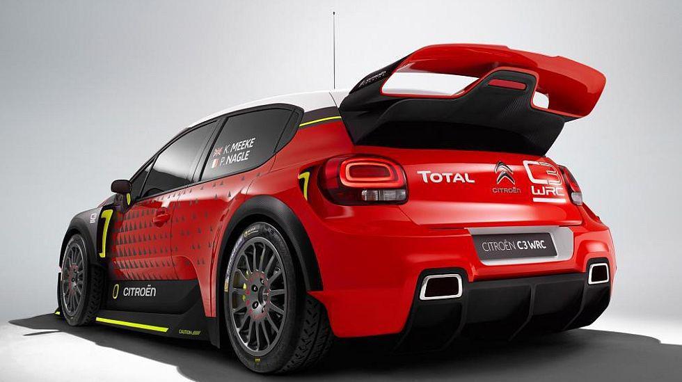 Citroën presentó el C3 WRC Concept [FOTOS] - 3