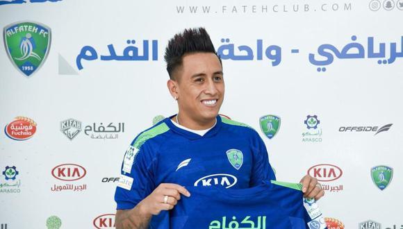 Christian Cueva jugará ahora en Arabia Saudita. (Foto: Al Fateh)