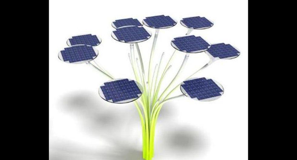 Estos árboles solares se verían pronto en Sudamérica