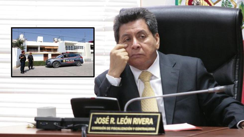 Droga en Huanchaco: casa de congresista José León fue allanada - 1