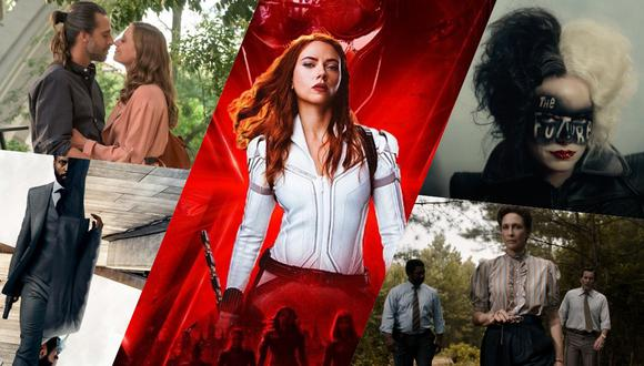 Los estrenos más destacados en streaming para julio del 2021. (Fotos: Difusión)