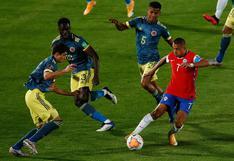 Colombia rescató un punto de su visita ante Chile por las Eliminatorias Qatar 2022