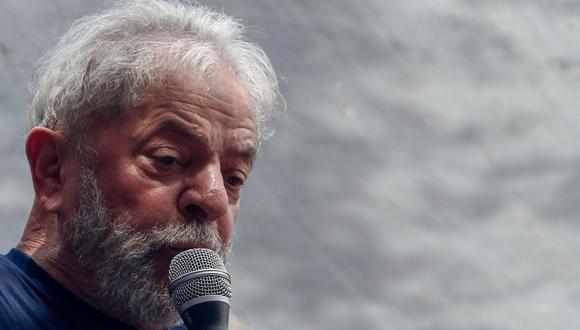 Máximo tribunal de Brasil reabre debate sobre liberación de Lula da Silva. (AFP).
