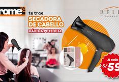 SECADORA DE CABELLO, máxima potencia para un secado de cabello profesional en este invierno.