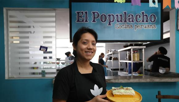 Betsi Albornoz trabajó en Colombia después de sus primeras experiencias en Lima. Lo hizo en el Restaurante El Gobernador.