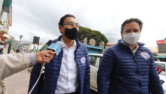 Daniel Salaverry es el candidato presidencial de Somos Perú. En tanto, Martín Vizcarra es candidato al Congreso por Lima Metropolitana. (Foto: Melissa Valdivia/GEC)