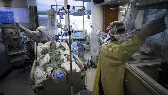Coronavirus en Estados Unidos | Últimas noticias | Último minuto: reporte de infectados y muertos hoy, sábado 03 de abril del 2021 | Covid-19. (Foto: EFE/EPA/ETIENNE LAURENT).