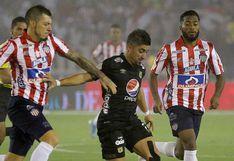 Junior empató sin goles ante América de Cali por la final de ida de la Liga Águila en Barranquilla