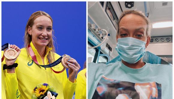 La nadadora australiana Madison Wilson contrajo COVID-19 durante una competencia en Italia. (Foto: AFP   Instagram)