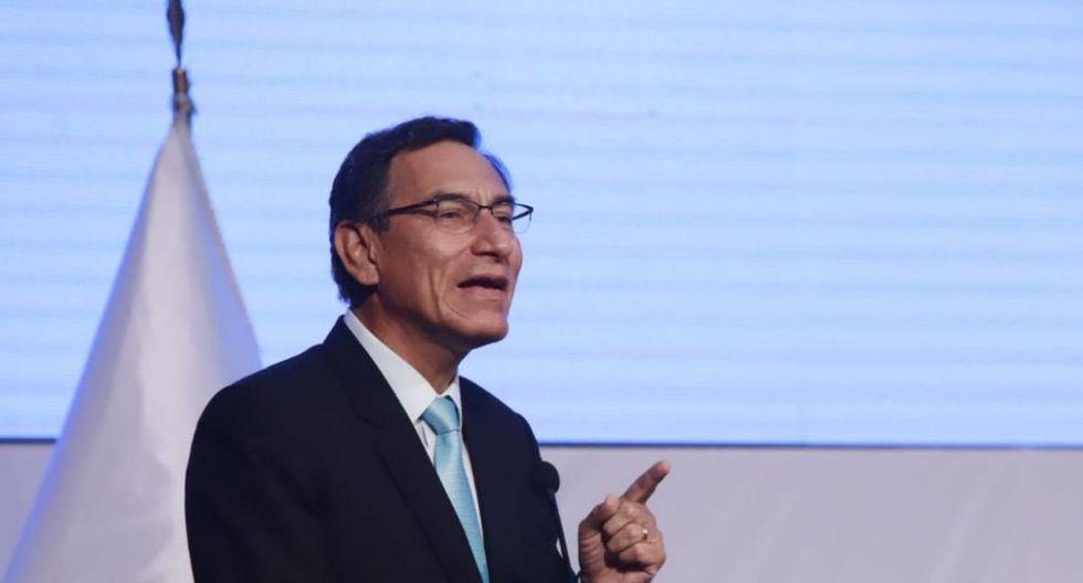 El presidente Martín Vizcarra pidió a los miembros de mesa que cumplan sus responsabilidades. (Foto: Presidencia de la República)