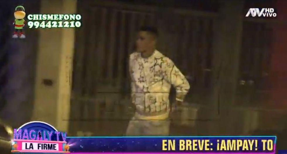 Yordy Reyna, Carlos Ascues y otros jugadores se fueron a local nocturno tras empate ante Uruguay. (Imagen: ATV)