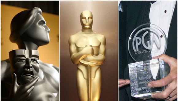Los Screen Actors Guild Awards y los Producer's Guild of America Awards suelen predecir a los ganadores del Oscar. (Foto: Agencias)
