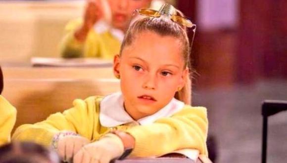 "Simoneta Molina era la muchacha rica del segundo grado de la escuela ""Patria Unida"" (Foto: Televisa)"