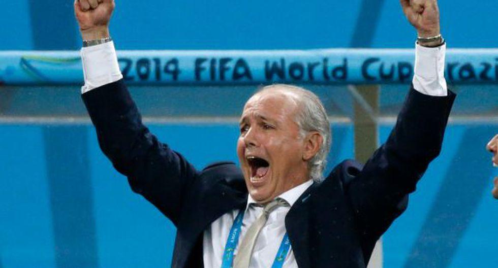 """Alejandro Sabella: """"Es una alegría, llegamos a la final"""""""