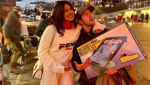 """Nick Jonas y Priyanka Chopra celebrarán su primer """"San Valentín"""" como esposos. (Foto: @priyankachopra)"""