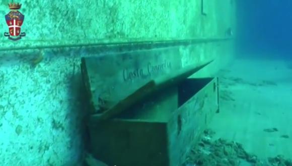 Un tenebroso viaje por los restos del Costa Concordia [VIDEO]
