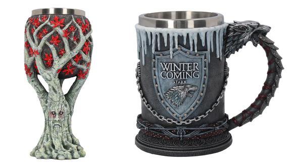 """Estos son los artículos que todo fan debe tener """"Game of Thrones"""". (Foto: HBO Shop/ Difusión)"""