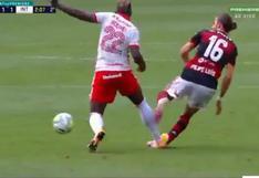 Flamengo vs. Inter: hincha pagó 185 mil dólares para que Rodinei juegue, pero termina siendo expulsado | VIDEO