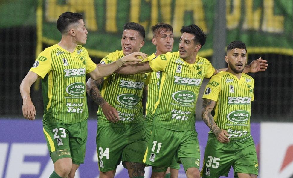Defensa y Jusiticia enfrentó a Olimpia por la Copa Libertadores