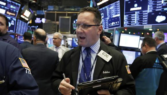Wall Street en miércoles: Dow Jones subió un 0.58 %,S&P 500 ascendió un 0.69 % yNasdaq progresó un 0.69 %. (Foto: AP)