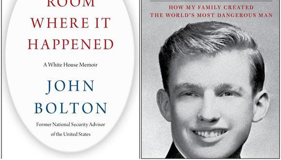 Los libros de John Bolton, ex asesor de Seguridad Nacional, y de Mary Trump, están dando dolores de cabeza al presidente de Estados Unidos.