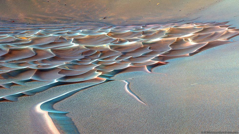 Los rincones intrigantes de Marte - 1