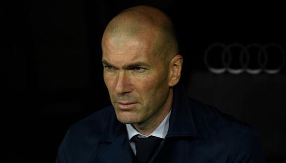 Zidane es entrenador de Real Madrid desde marzo del 2019. (Foto: AFP)