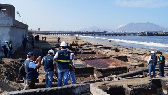 Destruyen 44 pozas ilegales de aceite de pescado