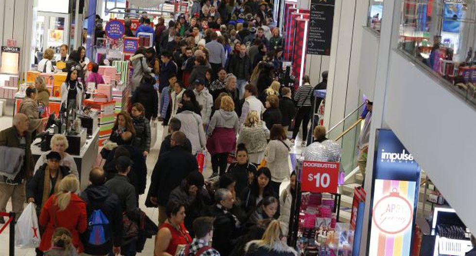 Durante el Black Friday se pueden encontrar descuentos de hasta el 90 por ciento. (Foto: AFP)