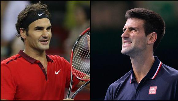 Ránking ATP: Roger Federer se acerca al líder Novak Djokovic
