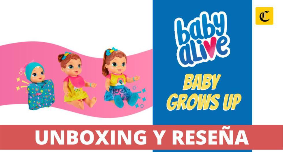La muñeca Baby Alive Grows Up! de Hasbro Perú ya se encuentra disponible en locales especializados del país.