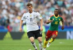 Alemania: el doblete de Werner que sentenció victoria ante Camerún
