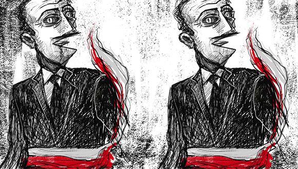 """""""Sacar a Rubén Vargas [del Ministerio del Interior] iba de carambola contra el presidente; quien, además, no se dio cuenta que, para muchos de esos críticos, el objetivo final era él"""". (Ilustración: Giovanni Tazza)."""